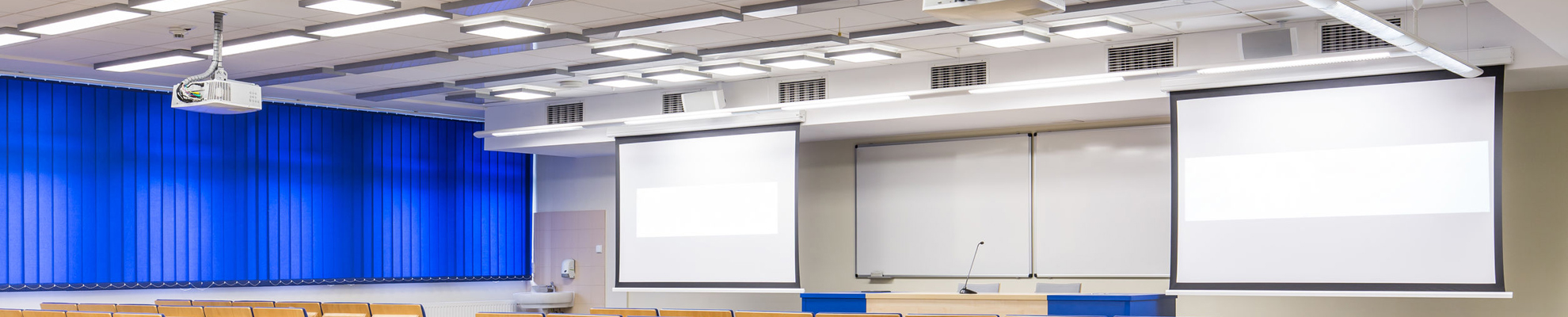 Primary Hall solution, projectors & screens