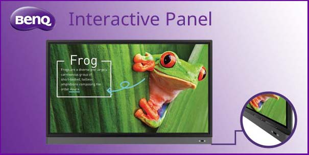 BenQ Interactive Touchscreens from Proactive AV